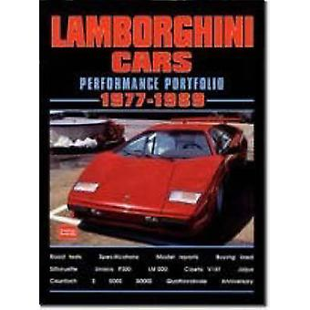 Lamborghini Cars Performance Portfolio 1977-1989 by R. M. Clarke - 97