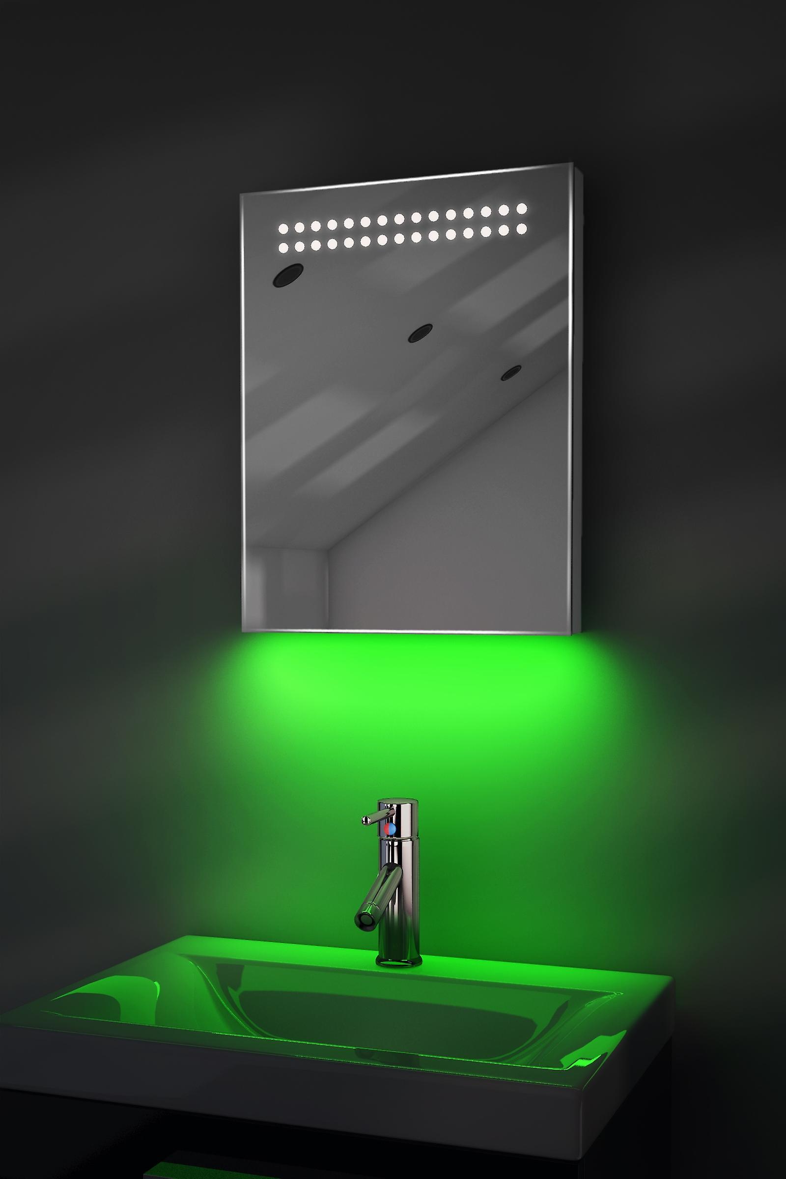 Auto Colour Change RGB with Bluetooth, Demist & Sensor k8srgbAud