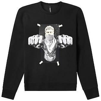 Neil Barrett ' Boxing Brutus ' Sweatshirt Black