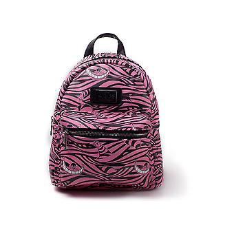 Disney Alice Im Wunderland-Cheshire Cat Backpack-Pink/Black (BP420084AIW)