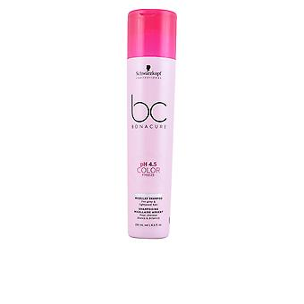 Schwarzkopf Bc Ph 4,5 colore Freeze argento micellare Shampoo 250 Ml Unisex
