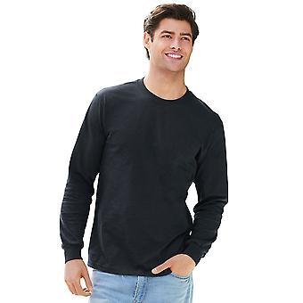 Gildan Mens Hammer saumaton puuvilla pitkähihainen T-paita