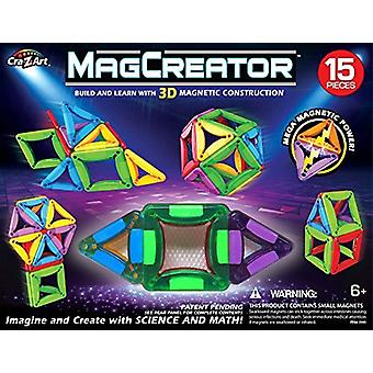 CRA-Z-ART Magcreator 35905 Building Set (15-Piece)