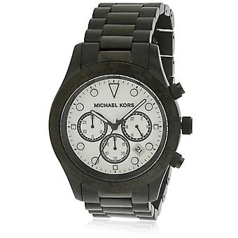 Michael Kors Layton Black Stainless Steel Chronograph Ladies Watch MK6083