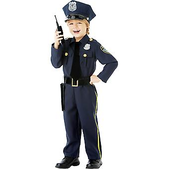 Boys Police Officer Child Costume