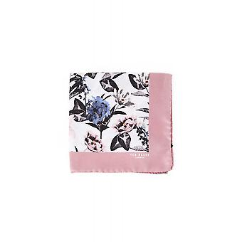 Ted Baker Mens Bray floral Silk Pocket Square