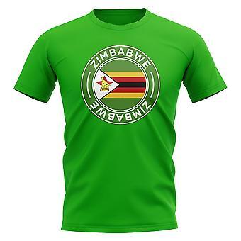 Zimbabwe Football Badge T-Shirt (Green)
