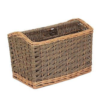Land Wicker magasin rack