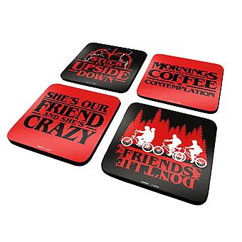 Stranger Things Citations Coaster Set