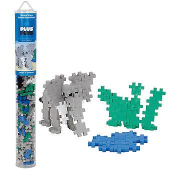 Plus Plus Tube Elephant 100 Piece Construction Building Set