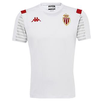 2019-2020 Monaco Official T-shirt (wit)