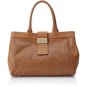 CUPLE Women's Bag Brown Size: 13x25x34 cm (W x H x L)