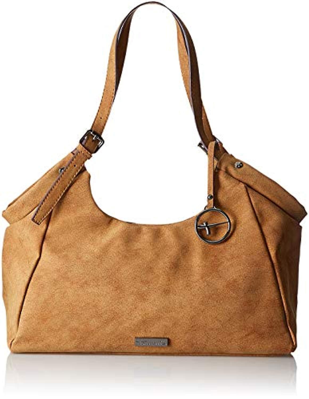 Tamaris 2804182 Bolso de hombro de mujer marrón (nuez 440)) 19x12x34 cm (B x Al x T)