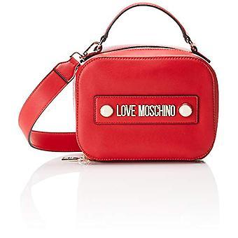 Amor Moschino Bolsa Grano Suave Pu Mano Mujeres (Rojo) 10x15x20 cm (An x Al x L)