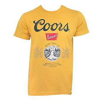 Coors Banquet Golden Tee Shirt