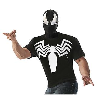 Venom Adult Costume T-Shirt With Mask
