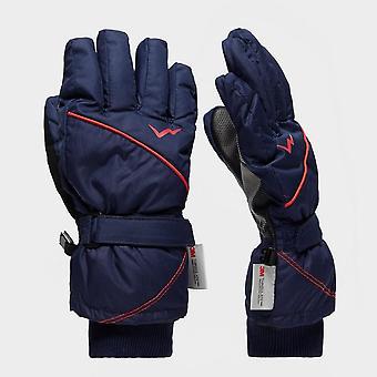 New Peter Storm Kids Ski Gloves Snowsports Bluemoon