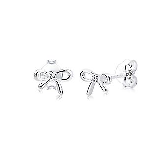 Diamore - Pin Earrings - Silver Sterling 925 - Woman