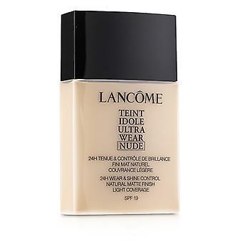 Lancome Teint Idole Ultra wear Nude Foundation Spf19 - beige Porcelaine - 40ml/1.3oz