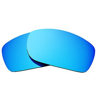 SeekOptics Replacement Lenses for Oakley Fives Squared Blue Mirror
