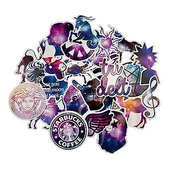 36x Stickers-Galaxy