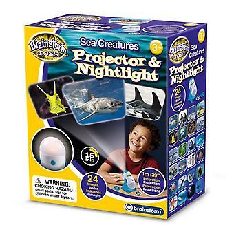 Zeedieren projector en nachtlampje