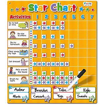 Fiesta Crafts Magnetic Large Star Chart