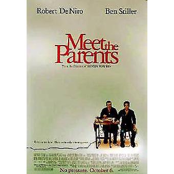 Tapaa vanhemmat (kaksipuolinen) alkuperäinen elokuva juliste