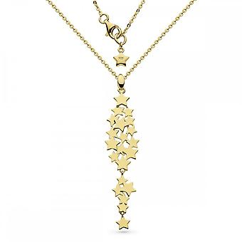 Kit Heath Stargazer Galaxy Gold Plate 18 Necklace 90213GD027
