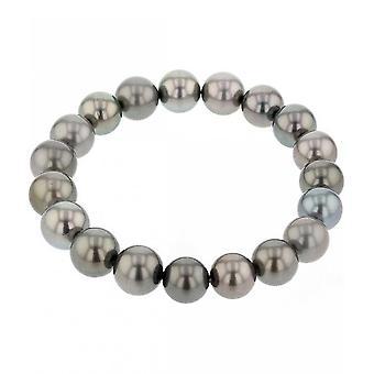 Luna-Pearls - Bracelet - Pearl Bracelet Tahiti-Zuchtperle 10-10.5 mm 2040311