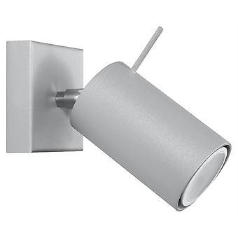 Sollux RING 1 lys væg Spotlight grå SL. 0449