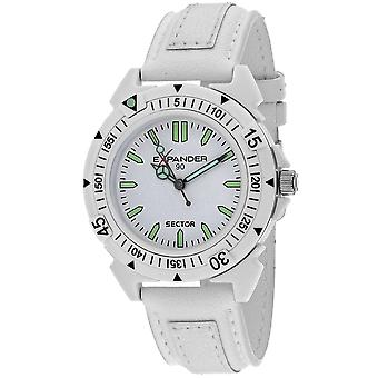 Sector Men's Expander White Dial Watch - 3251197045