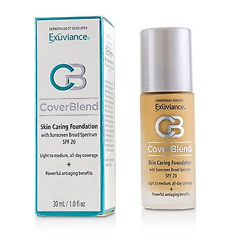 Exuviance Coverblend Skin Caring Foundation Spf20 - # Golden Beige - 30ml/1oz
