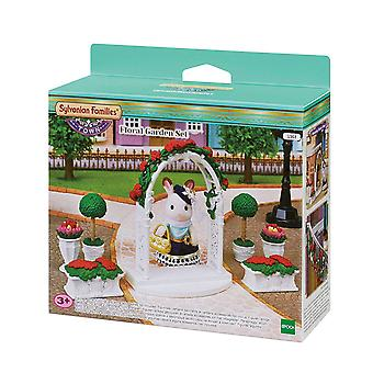 Οικογένεια σιλβανάνιαν-φλοράλ σετ κήπος παιχνίδι
