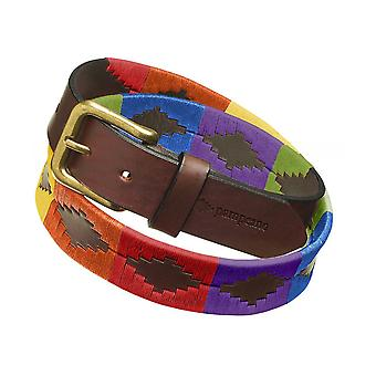 Pampeano Leather Igualdad Polo Belt