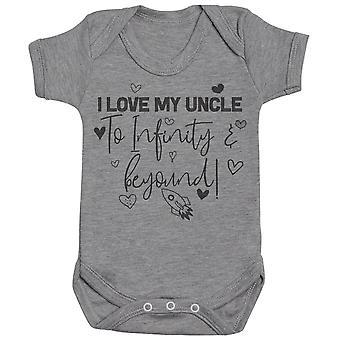 3-24 Months I Love My Uncles 7 Colours Baby T-Shirt