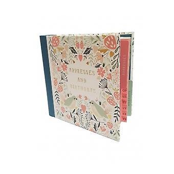 Love Birds Address Birthday Book