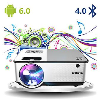 CRENOVA C9 LED Projector with Android and Bluetooth - Beamer Home Media Player - Copy
