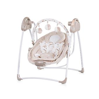 Chipolino Baby Rocker Paradise, Baby Swing Vibration Music Playbow from Birth