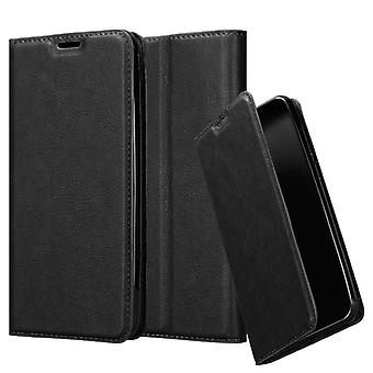 Cadorabo Housse pour Xiaomi RedMi GO coque case cover - Coque pour téléphone portable avec fermeture magnétique, fonction de stand et compartiment à cartes - Case Couverture Housse de protection Étui Sac de poche Style de poche