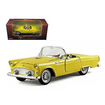 1955 Ford Thunderbird Convertible Amarillo 1/32 Diecast Car Model de Arko Products