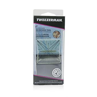 Tweezerman Clear Skin Microderm Tool - At Home Microdermabrasion - 1pc