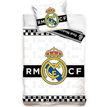Real Madrid CF Single Duvet Set