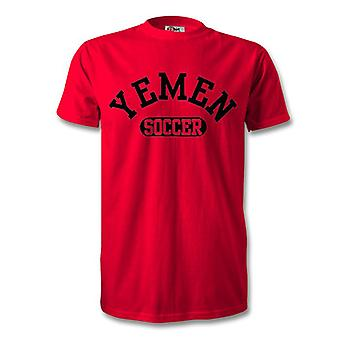 Camiseta de fútbol de Yemen