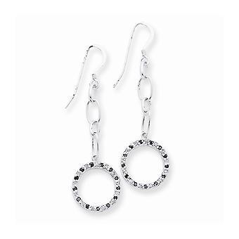 925 Sterling Argent Polished Post Boucles d'oreilles Fancy CZ Cubic Zirconia Simulated Diamond Earrings Bijoux Bijoux pour les femmes