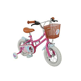 Elswick Misty 12 Inch Girls Heritage Bike Pink Ages 2.5-4 Years- MV Sports