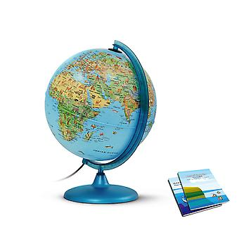 Nova Rico 30cm Symbole Illuminated Children's Globe With Booklet