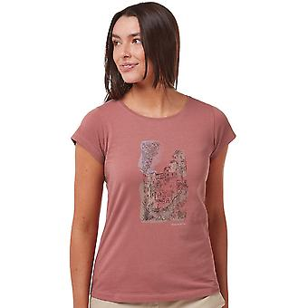Craghoppers Womens Lima Relaxed Fit Graphic Jersey T Shirt