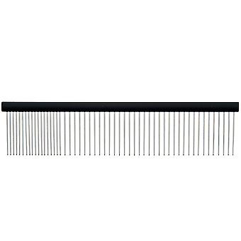 Ferribiella Aluminum Linear Comb Medium  (Dogs , Grooming & Wellbeing , Brushes & Combs)