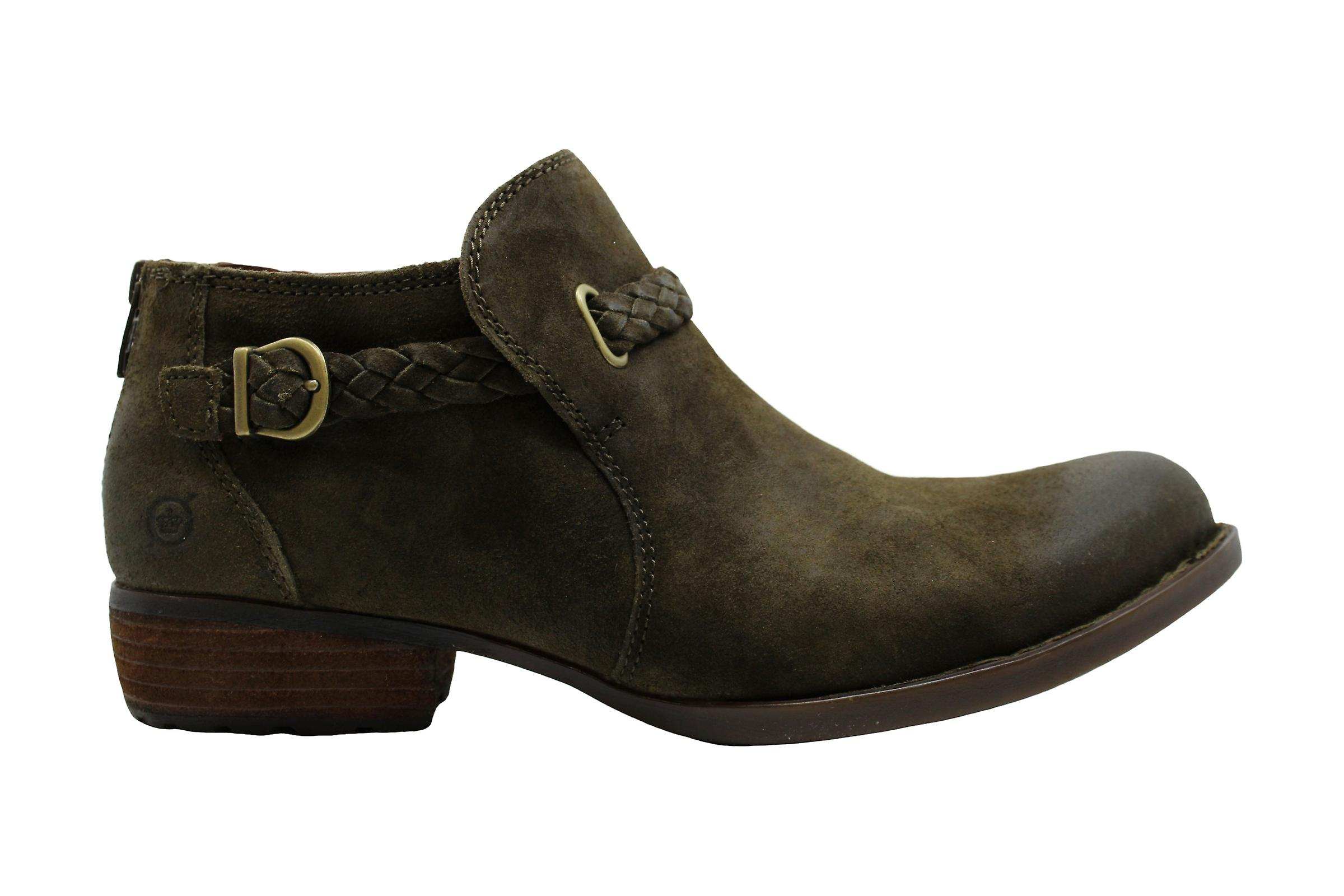 B.O.C Womens Sylvia Leather Almond Toe Ankle Fashion Boots Ip7cP